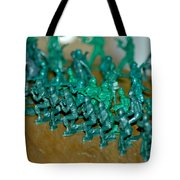 Army Men Line Up Tote Bag