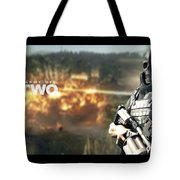 Army Of Two Tote Bag