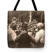Arnie Gary And Jack Tote Bag