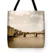 Arno River Florence Tote Bag