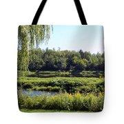 Aroostook River Landscape Tote Bag