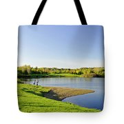 Around Barton Marina Lake Tote Bag