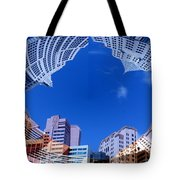 Around New York Tote Bag