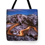 Around The Bends Tote Bag
