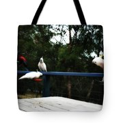 Around The Dinner Table Tote Bag