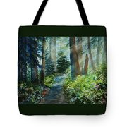 Around The Path Tote Bag