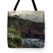 Around The Red Rock Tote Bag