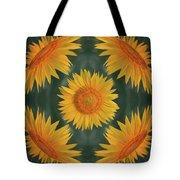 Around The Sunflower Tote Bag