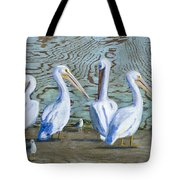 Around The Water Cooler Tote Bag