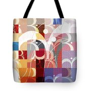 Arraygraphy - Sunset Inferno Triptych Part 3 Tote Bag