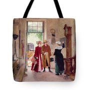 Arrival At The Inn Tote Bag