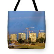 Arrival By Air Tote Bag