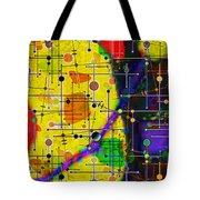 arriving at the nu planet Z-98 Tote Bag