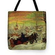 Arriving For The Holidays Tote Bag