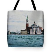 Arriving In Venice Tote Bag