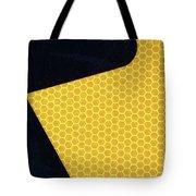 Arrow On Yellow Tote Bag