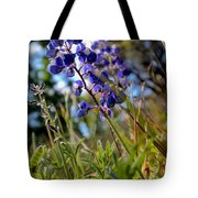 Arroyo Lupine Four Tote Bag