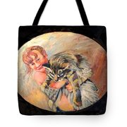 Arshay And Moose Tote Bag