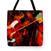 Art And Music Painting Tote Bag