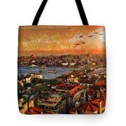 Art Beautiful Views Exist Fragmented Tote Bag