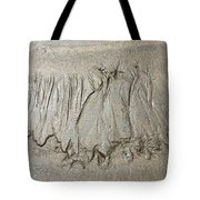 Art Created By Nature On Sand  Tote Bag