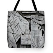 Art Deco 9 Tote Bag by Andrew Fare