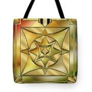 Art Deco Brass 2 Tote Bag