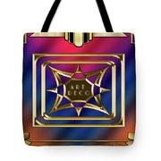 Art Deco Design 2020 C Tote Bag