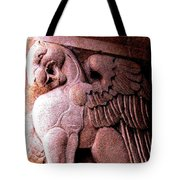 Art Deco Griffin Circa 1925 Tote Bag