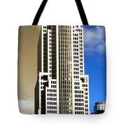 Art Deco Nbc Tower Tote Bag