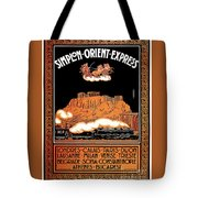 Art Deco Orient Express Advertising Athens Tote Bag