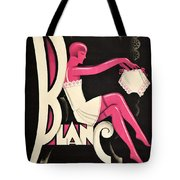 Art Deco Paris Lingerie Ad Tote Bag