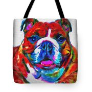 Art Dogportrait Tote Bag