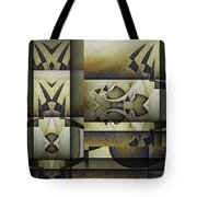 Art From The Klingon Homeworld Tote Bag