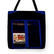Art Gallery At Night Tote Bag