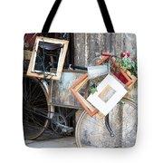 Art Gallery Bike Tote Bag