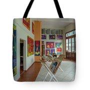 Art Gallery In Havana Tote Bag