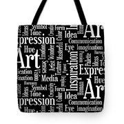 Art Idea Inspiration Tote Bag