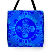 Art In Blue Tote Bag