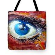 Art In The Eyes Tote Bag