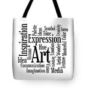 Art Inspiration Creativity Tote Bag