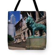 Art Institute Of Chicago Chicago Il Usa Tote Bag