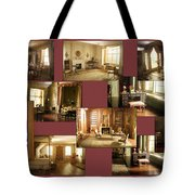 Art Institute Of Chicago Miniature Room Collage Tote Bag