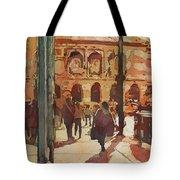 Art Institute Reflected Tote Bag