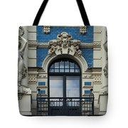 Art Nouveau In Riga Tote Bag