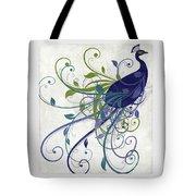 Art Nouveau Peacock I Tote Bag
