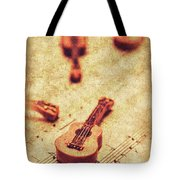 Art Of Classical Rock Tote Bag