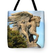 Art Of Peace Pegasus Tote Bag