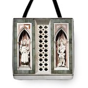Art On Duomo In Florence Italy Tote Bag