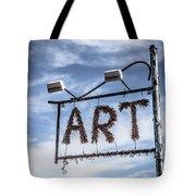 Art Sign Tote Bag